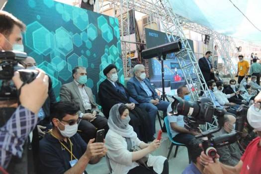 بازدید چهرههای سرشناس از غرفه بانک توسعه تعاون در نمایشگاه نوآوری و فناوری