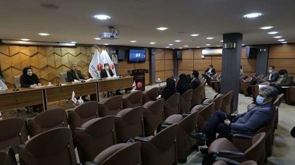 برگزاری برخط جلسه مدیران استانی و روسای شعب بیمه ما