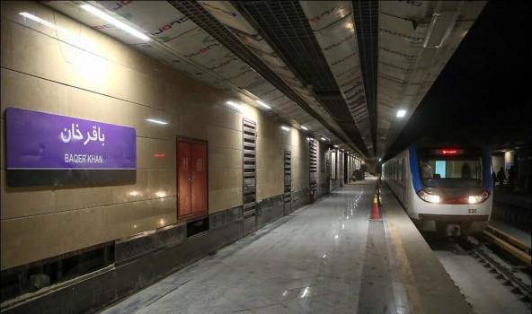 رییس جمهوری ۲ ایستگاه مترو تهران را افتتاح میکند