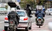 مانور موتور سوار خوب در شمال تهران برگزار می شود