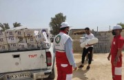 ۶۷۰ چادر اسکان بین زلزلهزدگان گناوه توزیع شد