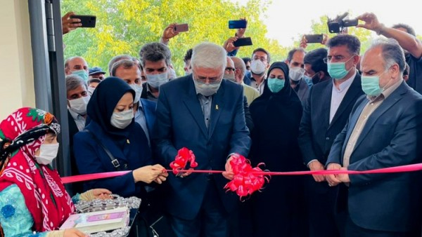 افتتاح مدرسه پاسارگاد در روستای همت آباد