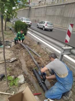 بهینه سازی شبکه آبرسانی فضای سبز در منطقه۲ تهران