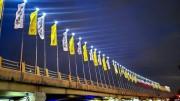 آغاز طرح نورپردازی پلهای سواره رو در منطقه۲
