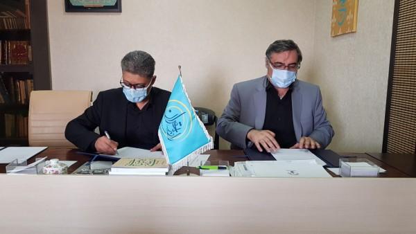 امضاء تفاهمنامه رادیو تهران و دانشگاه شهید بهشتی