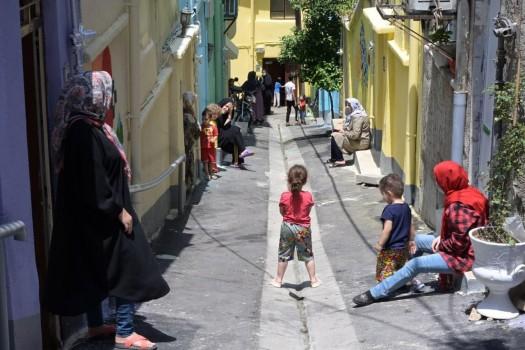 شکلگیری نخستین کوچه ی دوستی در شمال تهران