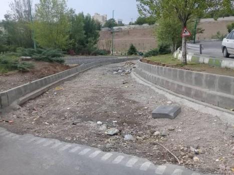 دسترسی به بلوار اوشان و بزرگراه امام علی(ع) شمال، آماده سازی شد