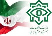 ضربه کاری وزارت اطلاعات به شبکه تروریستی موساد