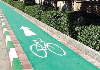 مسیر دوچرخه بهبلوارمرزداران رسید