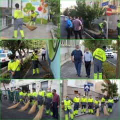 اجرای طرح ویژه نگهداشت شهر با محوریت چهارشنبه پاک