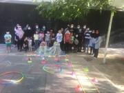 ایستگاههای ورزش شادمانه ویژه کودکان در شمال تهران راهاندازی شد